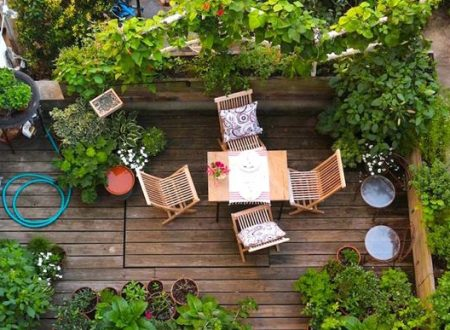 DECORARE UN BALCONE