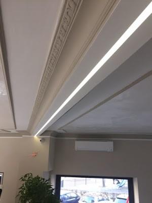 consigli illuminare il soffitto